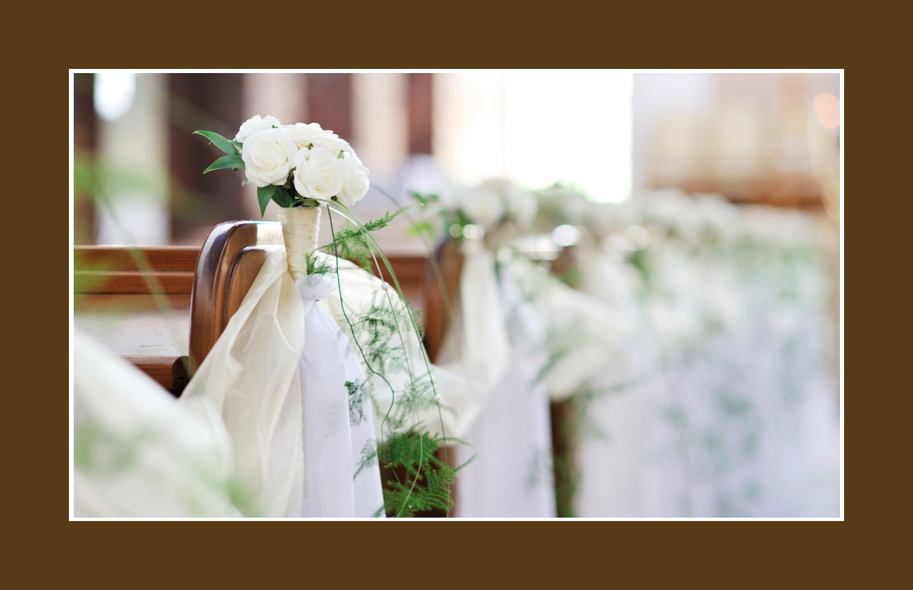 Blumen Kirchenbaender