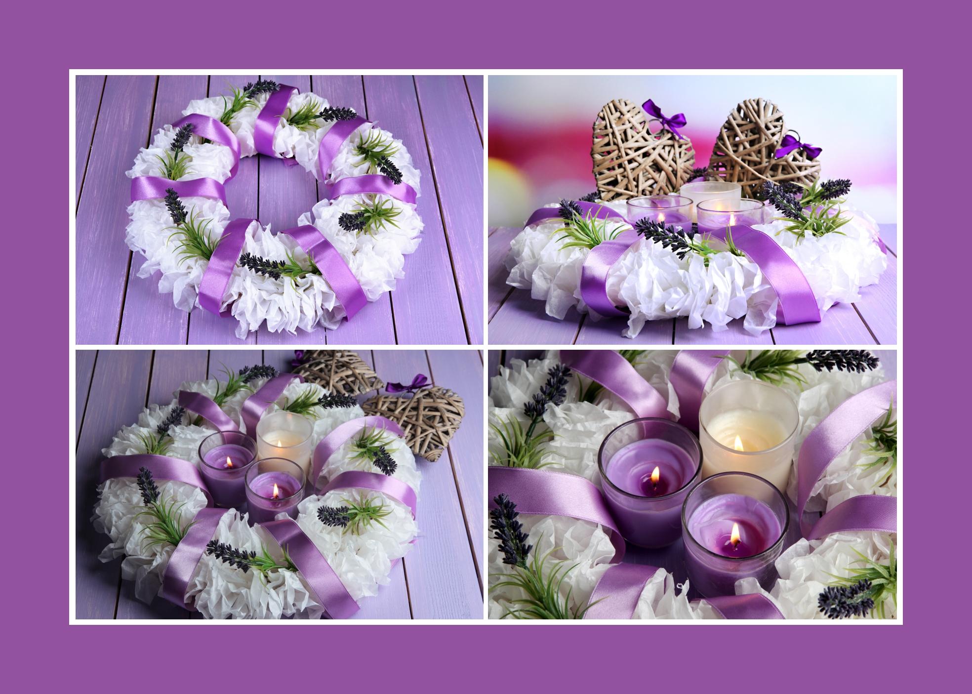 Blumenkränze Blumenschmuck Kunstblumen Hochzeit