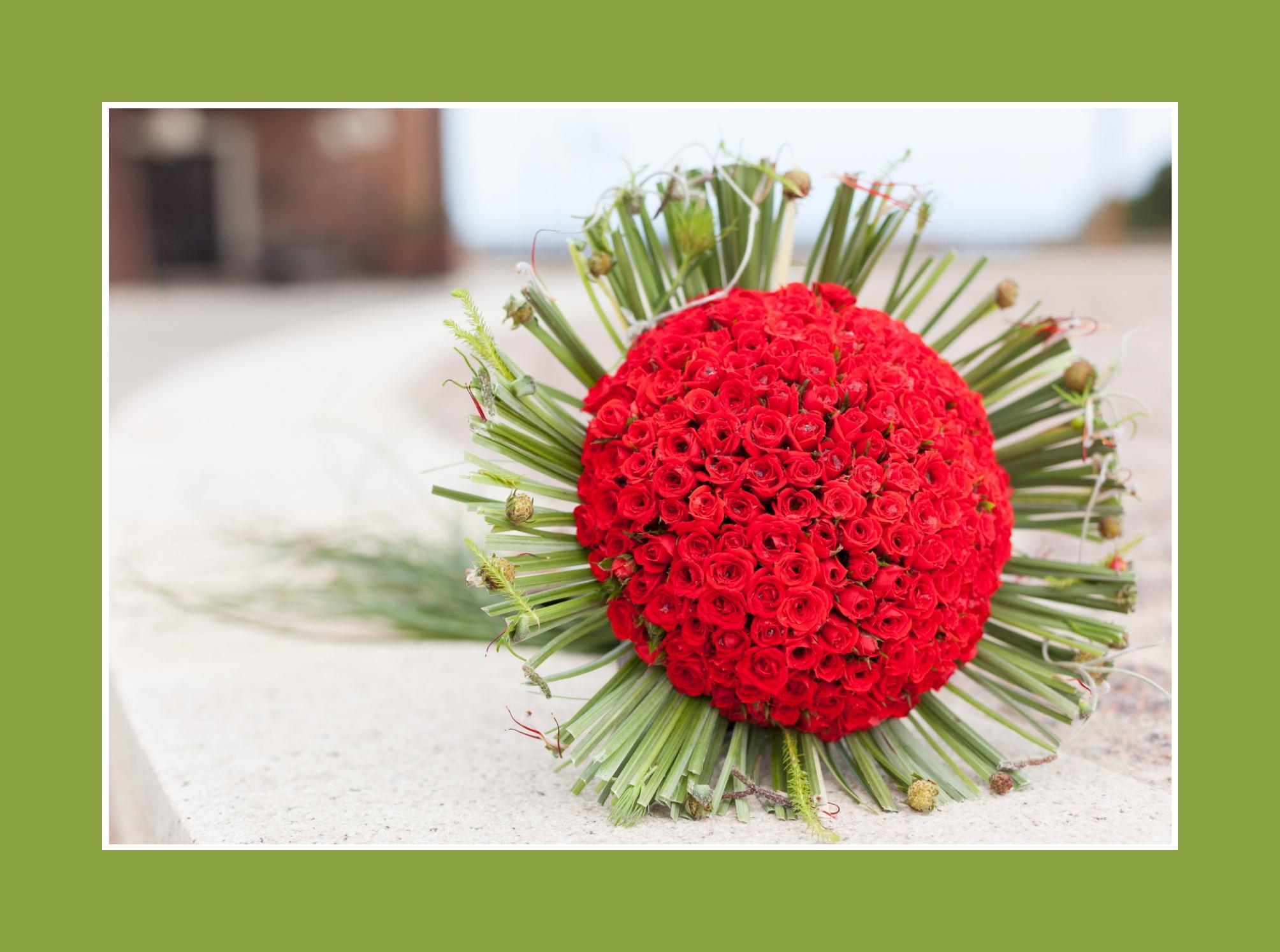 Blumenstrauß aussergewöhnlich