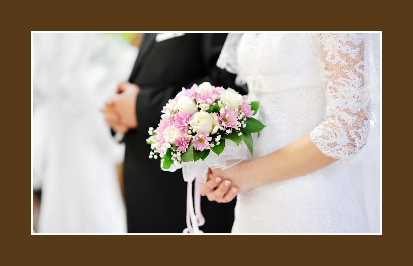 Brautsrauss Hochzeit Kirchendeko