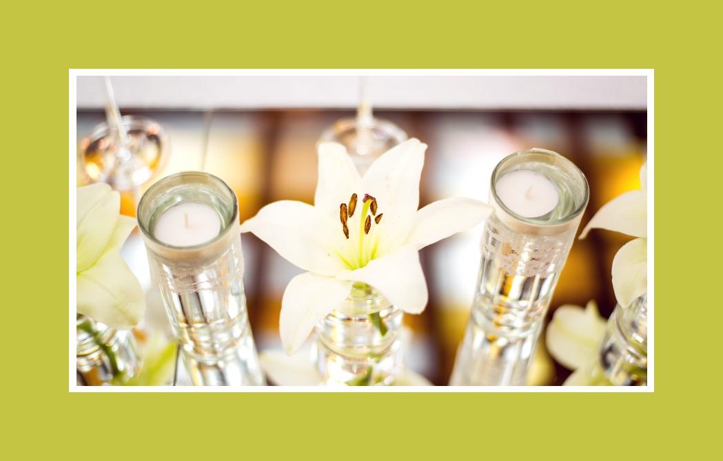 Die duftende Lilie - der hochzeitliche Zauber