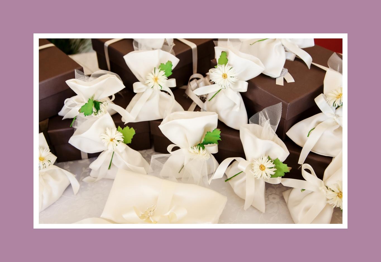 Geschenkbeutel mit Blumen - frühlingsfrisch