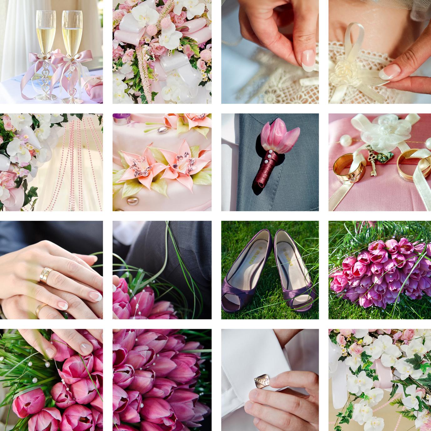 Hochzeit Rosa