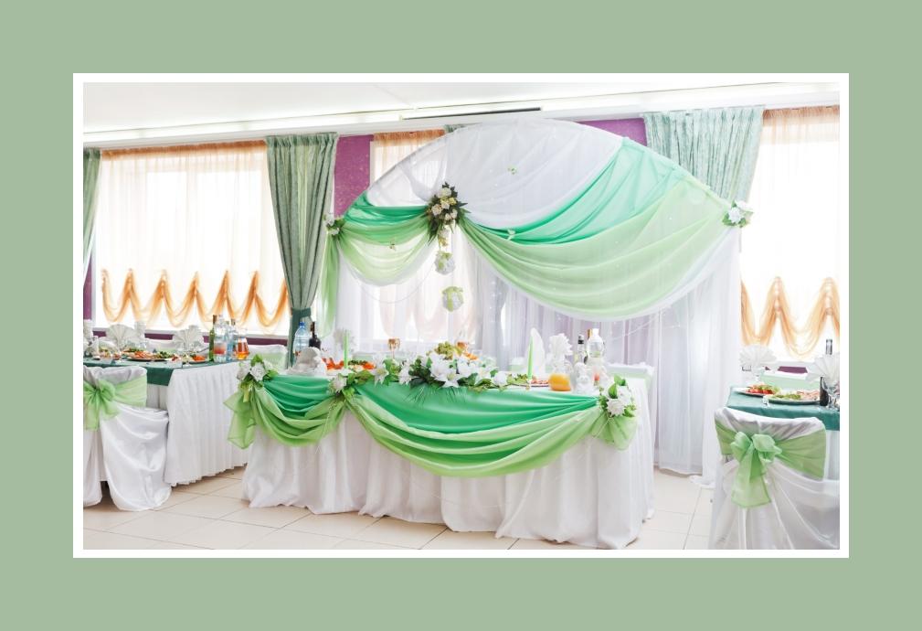 Tischdeko Grün-Tönen + Orange + Violett Hochzeit