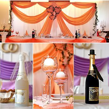 Hochzeitsdeko, Hochzeitstischdeko