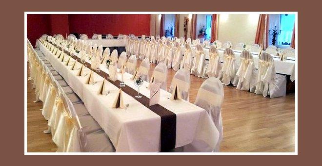 Hochzeitsdekoration – Tische für Hochzeit dekorieren