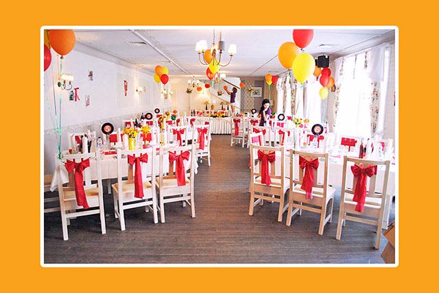 Vintage Hochzeit in Rot-Gelb – Russische Hochzeit in Deutschland