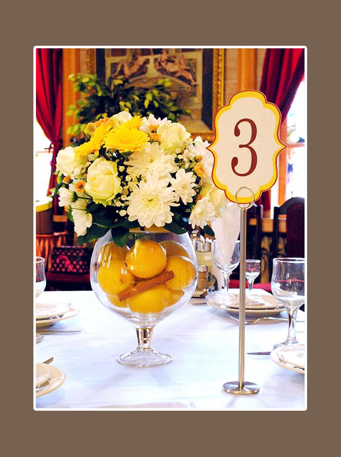 Blumenschmuck Hochzeit 1