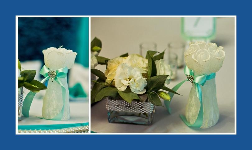 Blumendekoration Tisch Hochzeit Geburtstag