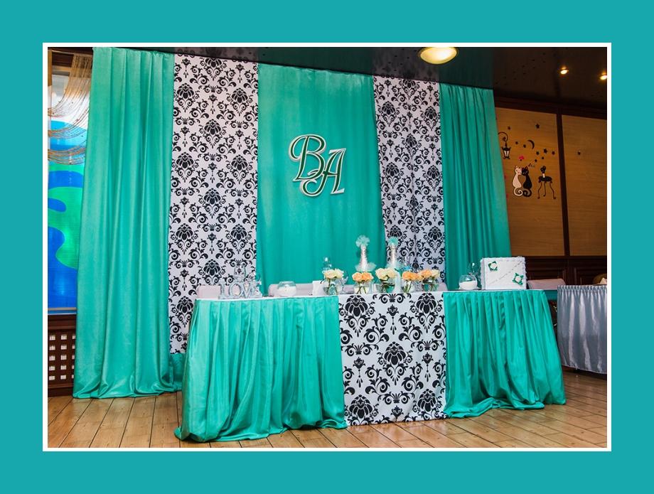 Tischdeko Mint Hochzeit