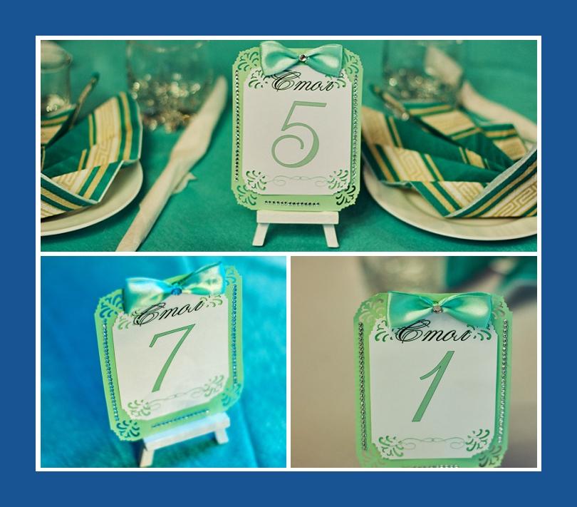 Tischkarten Hochzeit Deko