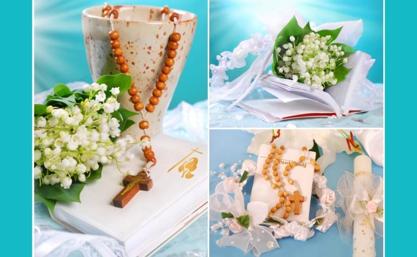 Christliche Feste dekorieren – Kommunion